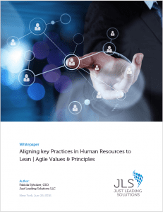 Title Page Whitepaper Agile HR Practices