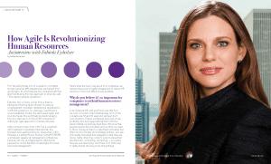 Agile VOX Magazine Interview with Fabiola Eyholzer on Agile HR