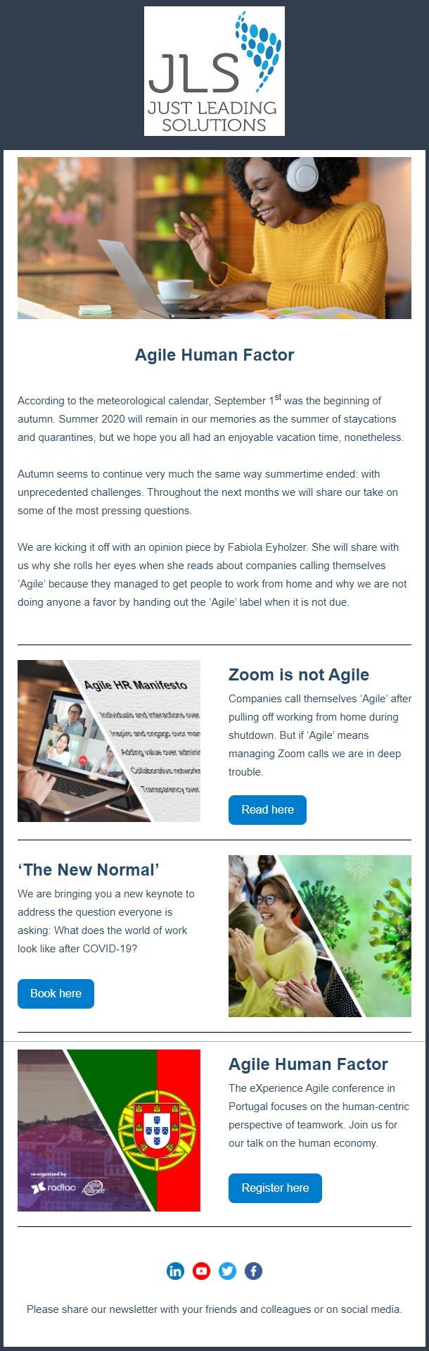 JLS Agile HR Insider - September 2020